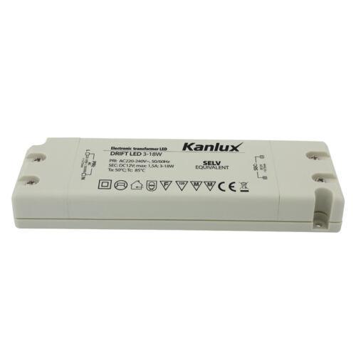 Kanlux Drift LED 3-18W tápegység
