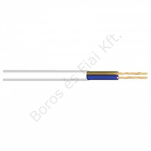 K-MTL 2x0,75mm2  H03VVH2-F fehér kábel