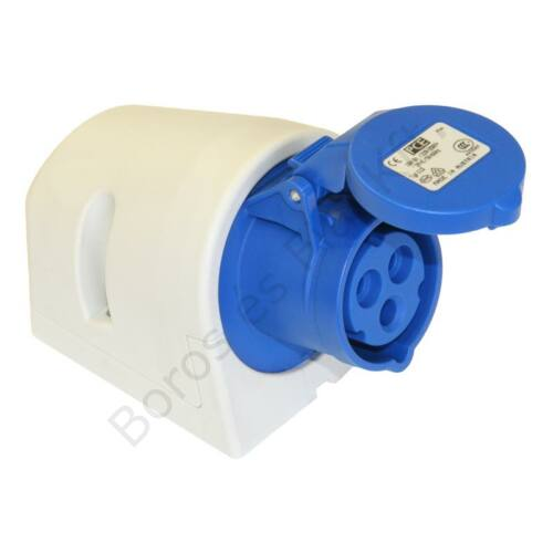 Ipari csatlakozó PCE 113-6 fali aljzat 16A/3P/230V