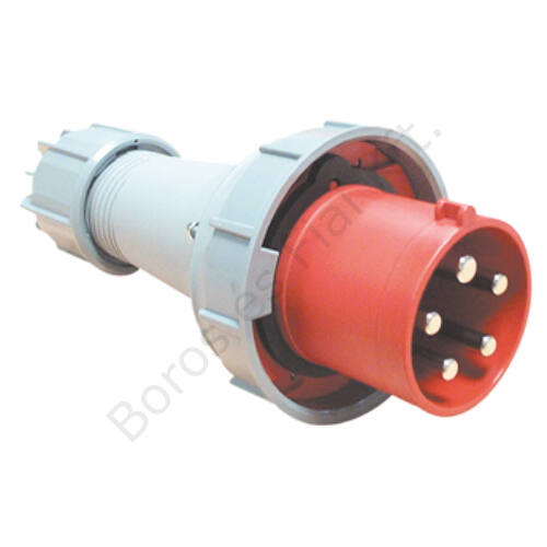 Ipari csatlakozó PCE 035-6 lengő villa 63A/5P/400V