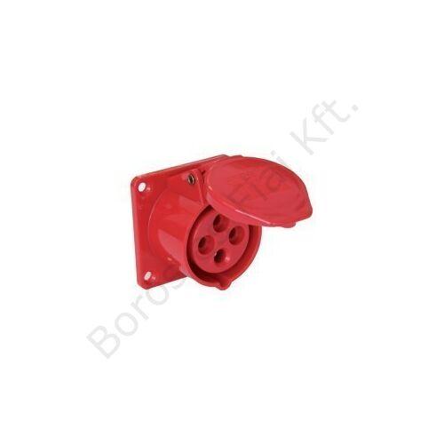 Ipari csatlakozó PCE 324-6 beépített dugalj 32A/4P/400V