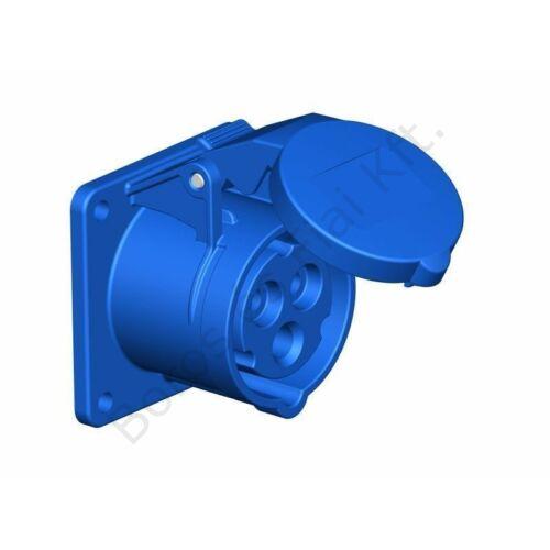 Ipari csatlakozó PCE 313-6 beépített dugalj 16A/3P/230V