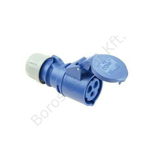 Ipari csatlakozó PCE 213-6 lengőalj 16A/3P/230V