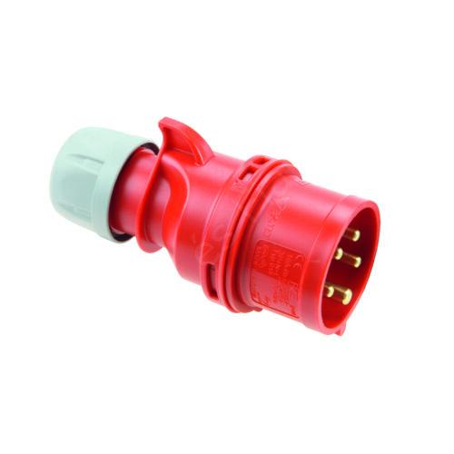 Ipari csatlakozó PCE 025-6 lengő villa 32A/5P/400V