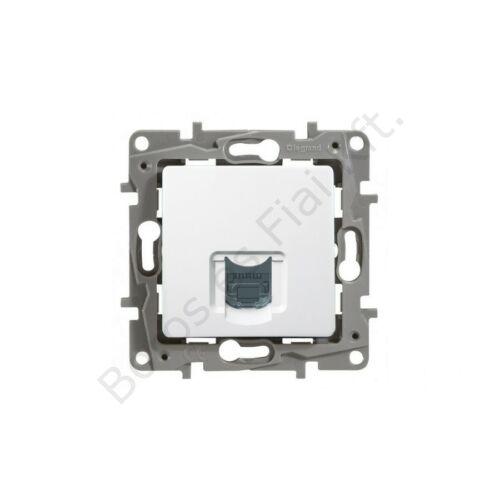 Legrand Niloé 1xRJ45 CAT 6 UTP csatlakozó aljzat fehér