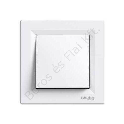 Schneider ASFORA Keresztkapcsoló - IP44, fehér kültéri fehér